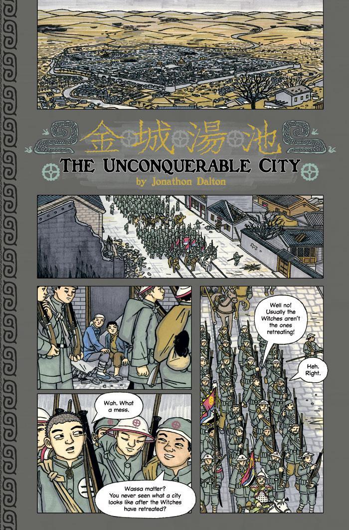 The Unconquerable City 1