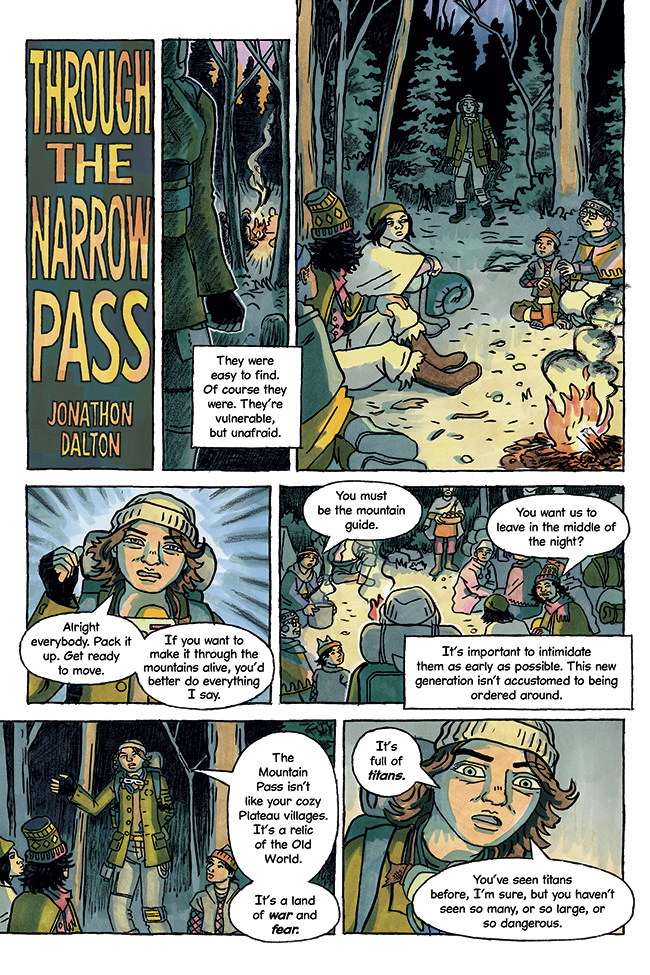 Through the Narrow Pass 1